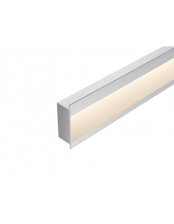 Perfil Embutido LED Wall 76,5mm 18W/m Power Lume EMB-WALL